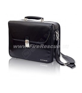 ELITE BAGS HOME CALLS DELUXE BAG DOCTOR'S - BLACK
